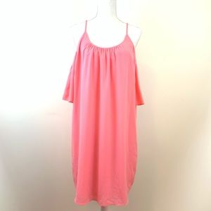 FRENCH CONNECTION CORAL DRESS 🔥